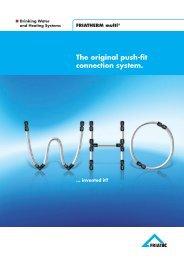 The original push-fit connection system. - Friatec
