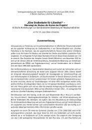 """""""Eine Straßenbahn für Lilienthal!"""" – - Initiative Pro Lilienthal eV"""