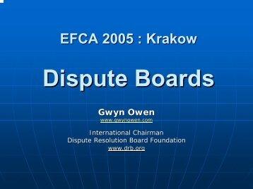 Gwyn OWEN - Efca