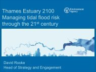 Thames Estuary 2100 Managing tidal flood risk ... - (IFI)-Home Page