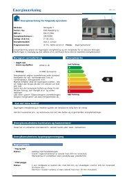 Energimærkning - RobinHus