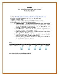 Please click here to view instructions for updating your ... - Nailba