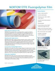 Norton ETFE Fluoropolymer Film, High ... - NORTON® Films