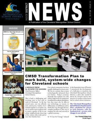 December 2009 - Cleveland Metropolitan School District