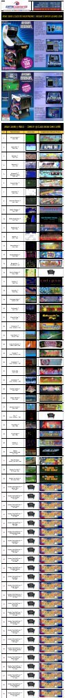 Arcade Legends 3 Classic 80's Arcade Games Machine - BMI Gaming