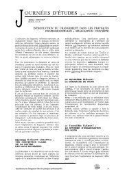 JOURNEES D'ÉTUDES 19-x JANVIER 90