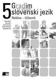 Gradim slovenski jezik 5 - rešitve učbenika