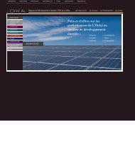 Télécharger la partie Ressources (PDF) - Rapport de ...