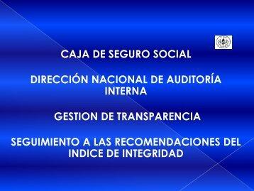 Diapositiva 1 - Caja del Seguro Social