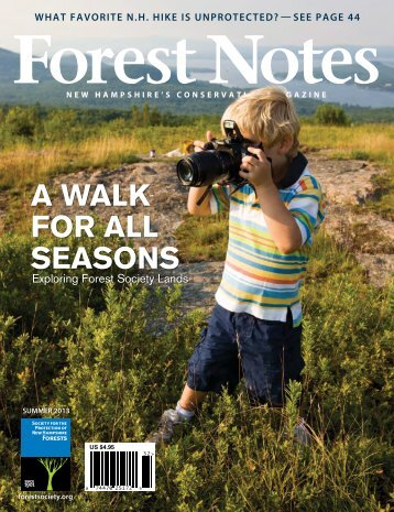 Forest Notes Summer 2013 issue (9.3 MB PDF) - Society for the ...