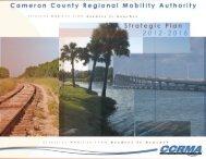 CCRMA Strategic Plan 2012-2016 - Cameron County Regional ...