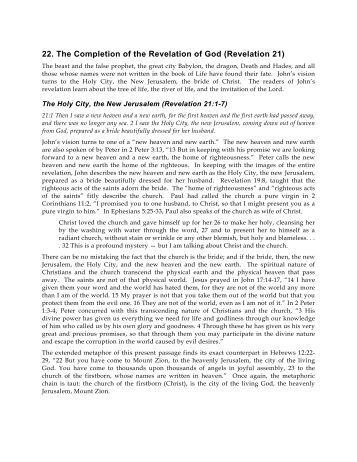 Notes on the book of revelation pdf