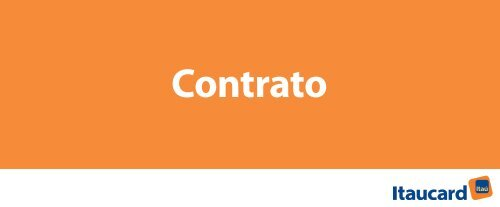 Contrato - Itaucard