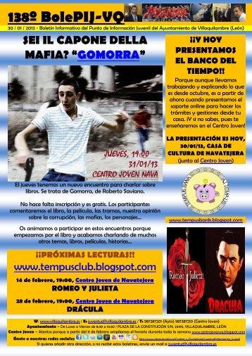 138º BolePIJ-VQ - Ayuntamiento de Villaquilambre