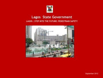 Download Lagos City: Stepping into the Future PDF - Walk21