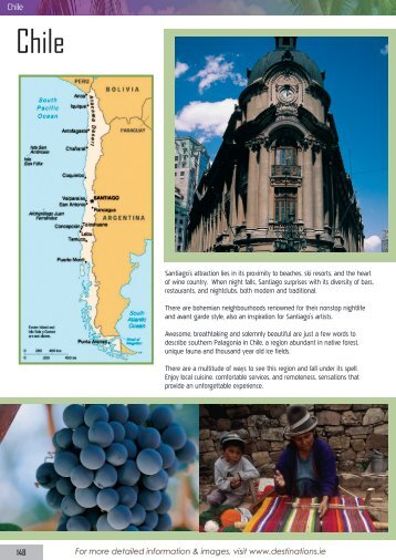 Santiago's attraction lies in its proximity to beaches, ski resorts, and ...
