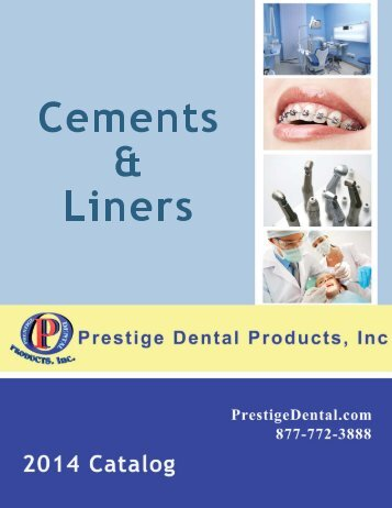Cements & Liners - Prestige Dental Products