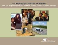 An Industry Cluster Analysis: - NEworks - State of Nebraska