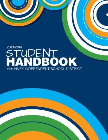 Student Handbook - McKinney Independent School District