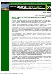 Berries. Enfoque de Producción y Comercialización EUROPA ...