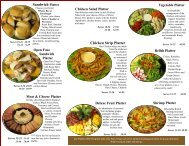 Chicken Strip Platter - The Wurst Haus