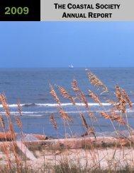 2009 Annual Report - The Coastal Society