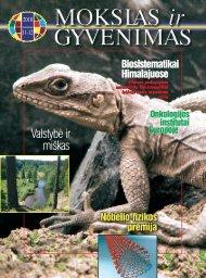 Valstybė ir miškas - Vilniaus universitetas