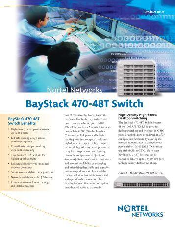 Baystack 470 48t