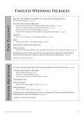 Wedding Menus - Saratoga National - Page 5