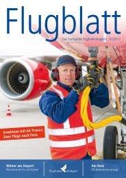 Ausgabe 1/12 - Flughafen Stuttgart