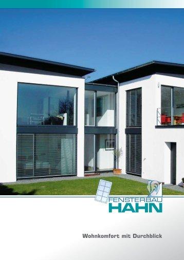 INFO - Fensterbau Hahn