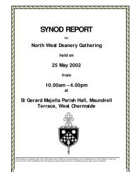 SYNOD REPORT - Archdiocese of Brisbane