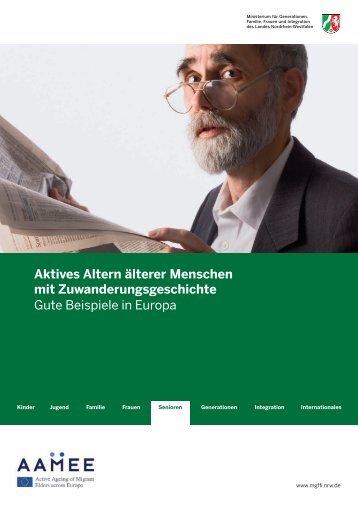 Aktives Altern älterer Menschen mit ... - Alter & Migration