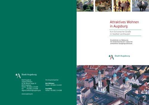 Attraktives Wohnen in Augsburg - Stadt Augsburg