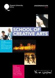 creative arts school of - School of Creative Arts - Queen's University ...
