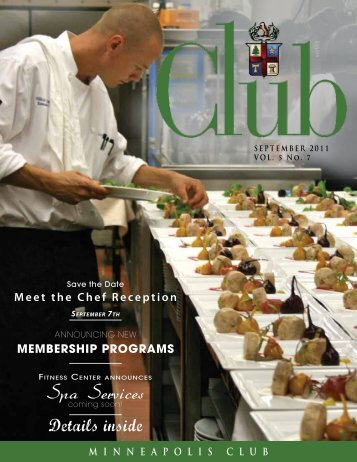 September - Minneapolis Club
