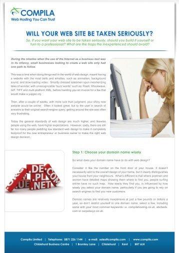 to Download PDF - Website Hosting