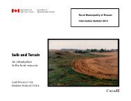RM of Rosser Information Bulletin 99-4 - Agriculture and Agri-Food ...