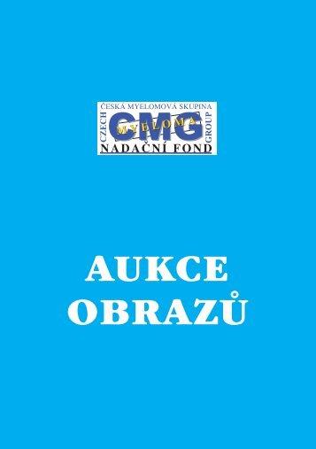 katalog nabízených výtvarných děl v aukci - Nadační fond Česká ...