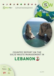 SOLID WASTE MANAGEMENT IN LEBANON - SWEEP-Net