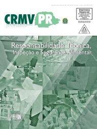Responsabilidade Técnica, - CRMV-PR