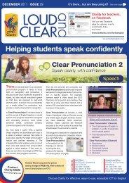 Helping students speak confidently - Clarity English language ...