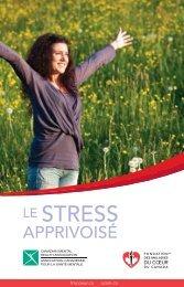 Le stress apprivoisé - Fondation des maladies du coeur du Canada