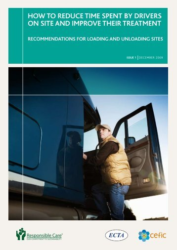 How to reduce time spent by drivers on site and improve tHeir ...