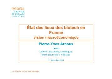M. Pierre-Yves ARNOUX - GIPSO