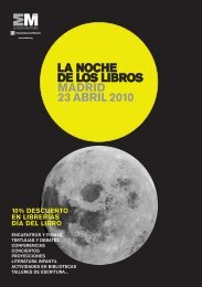 programa noche de los libros - EntreLectores