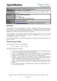 Spezifikation - im buero-forum des bso