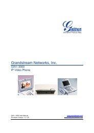 Grandstream Networks, Inc. - E-Line BV