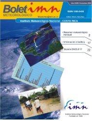 Noviembre 2008 - Instituto Meteorológico Nacional
