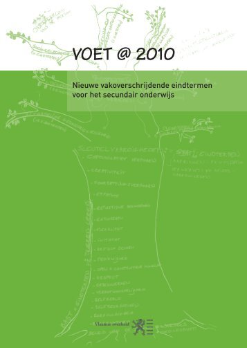 VOET @ 2010 - Onderwijs en Vorming - Vlaanderen.be
